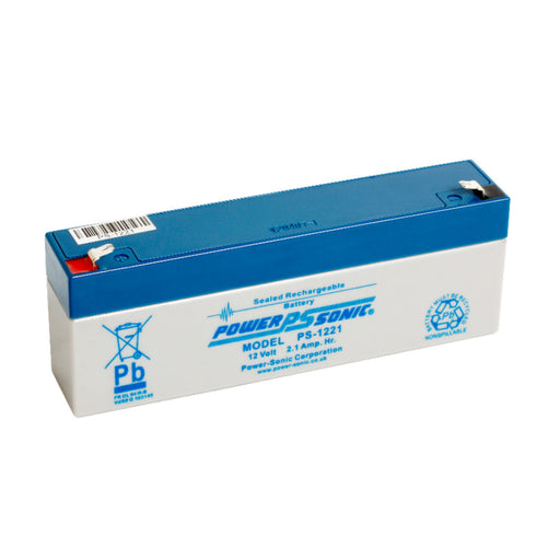Power-Sonic PS1221 12V 2.1Ah SLA Battery