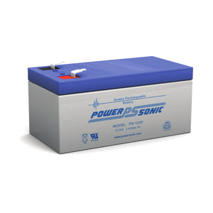Power-Sonic PS1230 12V 3.4Ah SLA Battery