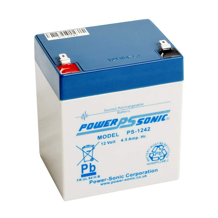 Power-Sonic PS1242 12V 4.5Ah SLA Battery