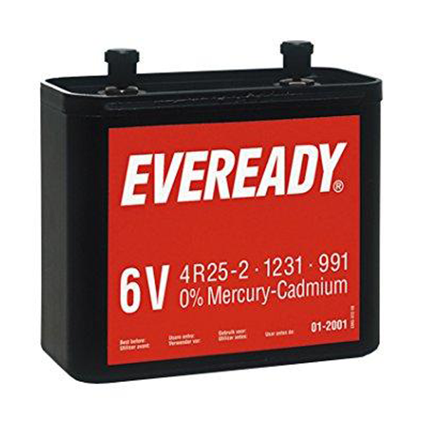 Eveready 991/4R25-2 VP Battery