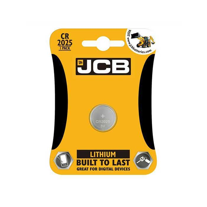 JCB CR2025 Coin Cell Battery