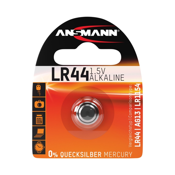 Ansmann LR44/A76 Button Cell Battery