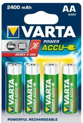 Varta Accu AA NiMH 2400mAh Rechargeable Battery Pack of 4