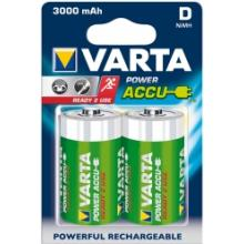 Varta Accu D NiMH 3000mAh Rechargeable Battery Pack of 2