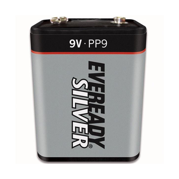 Eveready 6F100 / PP9 Zinc Battery