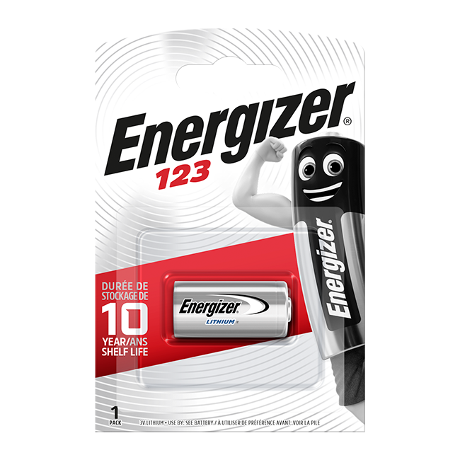 Energizer CR123A Lithium Photo Battery