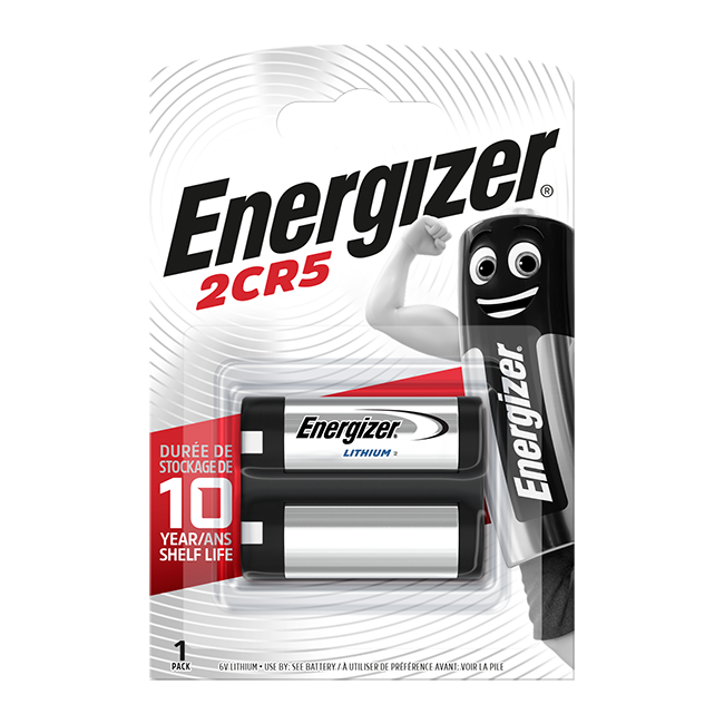Energizer 2CR5 Lithium Photo Battery