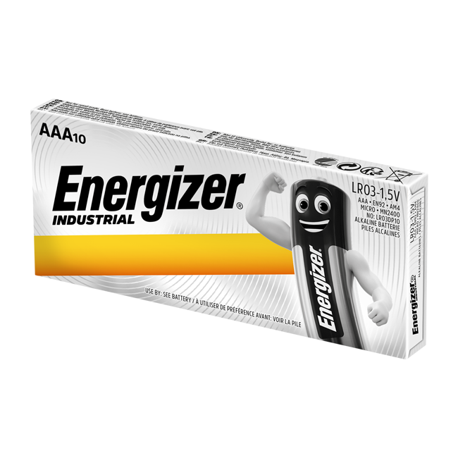 Energizer Industrial AAA / LR03 Batteries