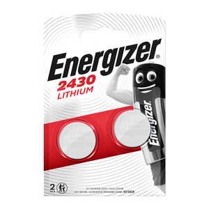 Energizer CR2430 3V Lithium Coin Cell Batteries