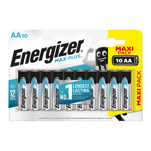 Energizer Max Plus AA / LR6 Batteries