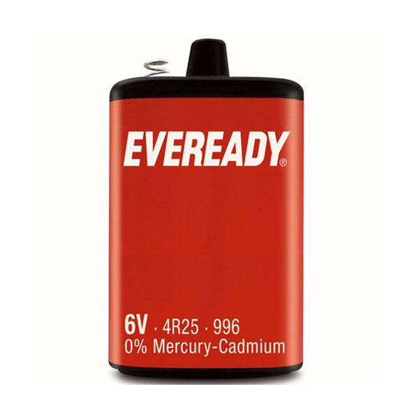Eveready PJ996 / 4R25 6V Battery
