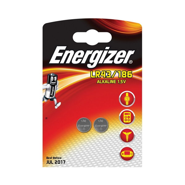 Energizer LR43 1.5V Batteries