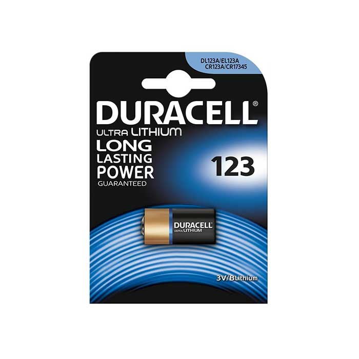 Duracell Ultra Lithium CR123A Photo Battery
