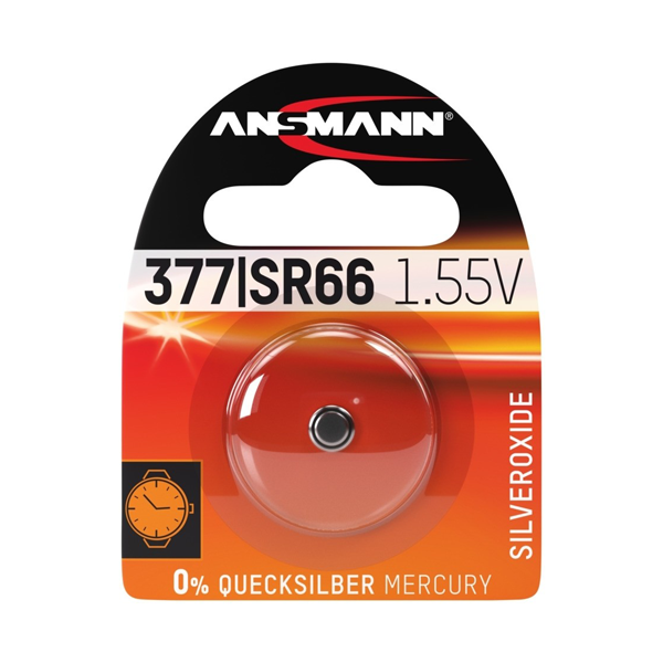 Ansmann 377 (SR66) Battery