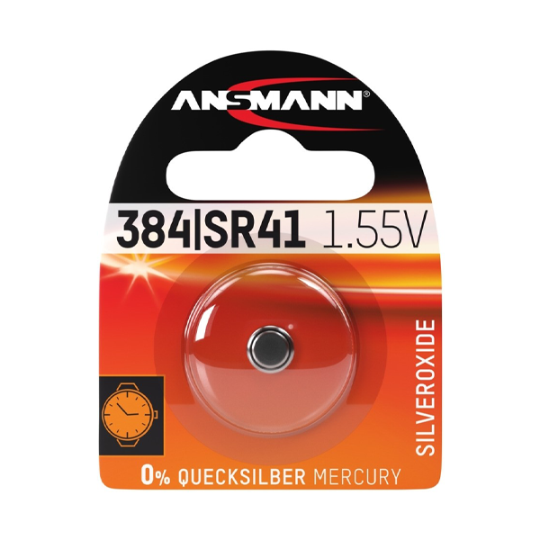 Ansmann 384/392 (SR41) Battery