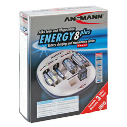 Ansmann Energy 8 Plus Charger