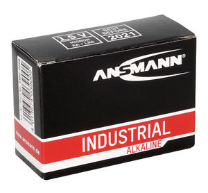 Ansmann Industrial AA/LR6 Batteries 10PK