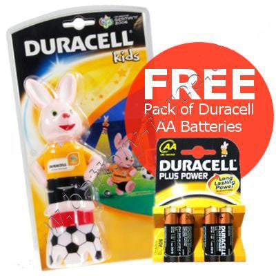 Duracell Bunny Light incl. 4x FREE AA batteries
