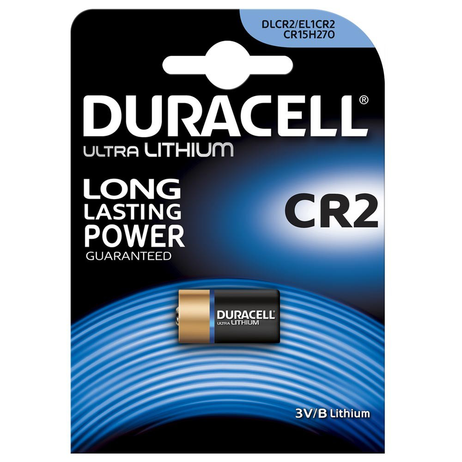 Duracell Ultra CR2 Lithium Photo Battery