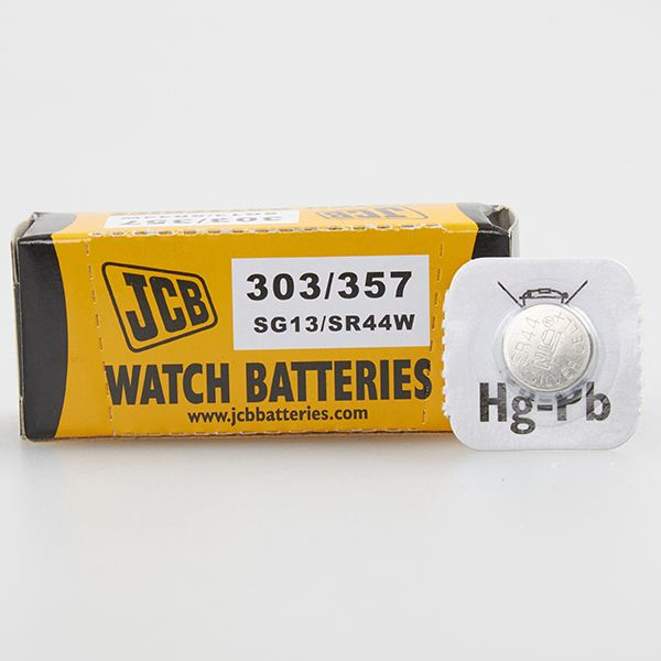 JCB 303/357 Watch Batteries 10PK