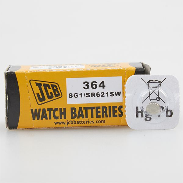JCB 364 Watch Batteries 10PK
