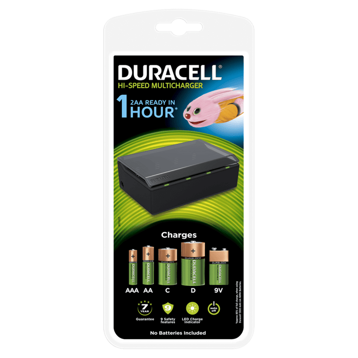 Duracell Hi-Speed Multi Charger