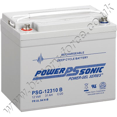 Power-Sonic PSG12310 12V 31.0Ah SLA (Gel) Battery
