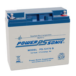 Power-Sonic PS12170 12v 17.0Ah SLA Battery
