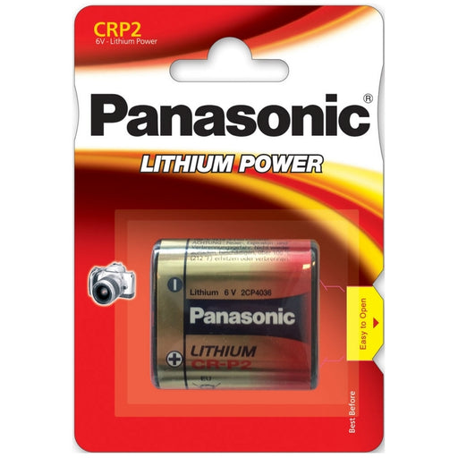 Panasonic CR223 / CRP2P Lithium Photo Battery