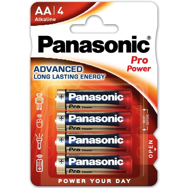Panasonic Alkaline Pro Power AA / LR6 Batteries