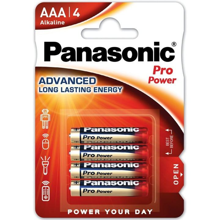 Panasonic Alkaline Pro Power AAA / LR03 Batteries
