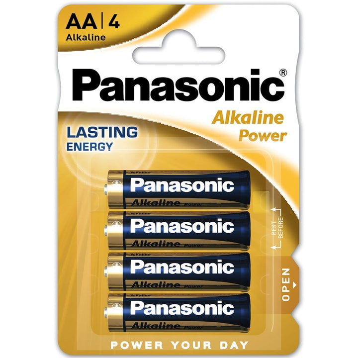 Panasonic Alkaline Power Bronze AA / LR6 Batteries