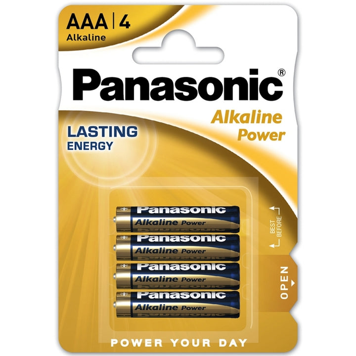 Panasonic Alkaline Power Bronze AAA / LR03 Batteries