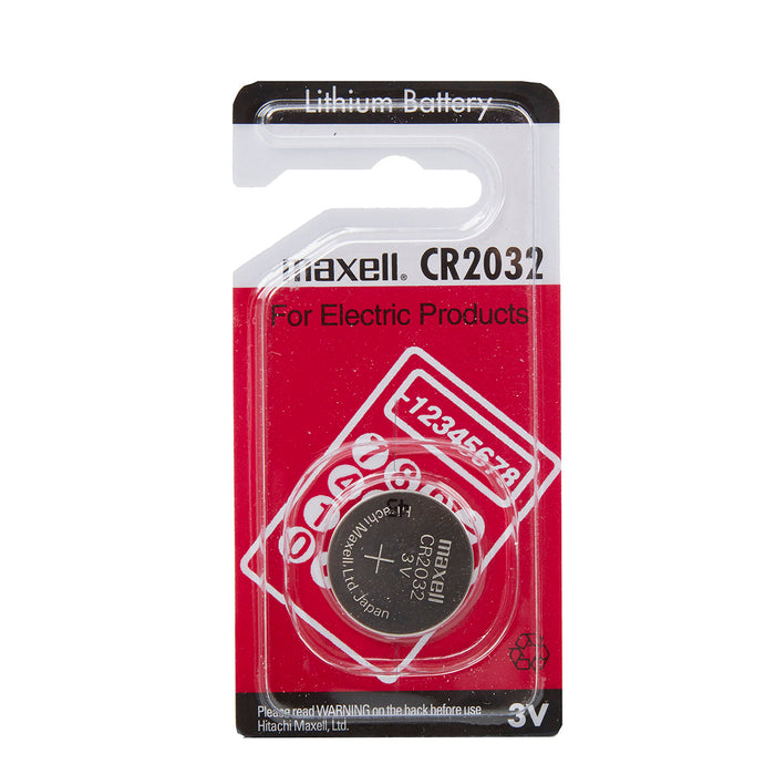 Maxell CR2032 3V Lithium Coin Cell Pack of 1