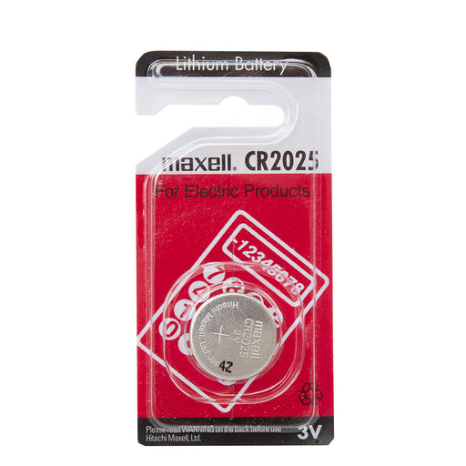 Maxell CR2025 3V Lithium Coin Cell Pack of 1