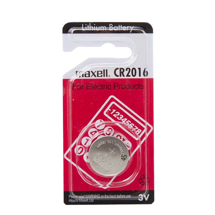 Maxell CR2016 3V Lithium Coin Cell Pack of 1