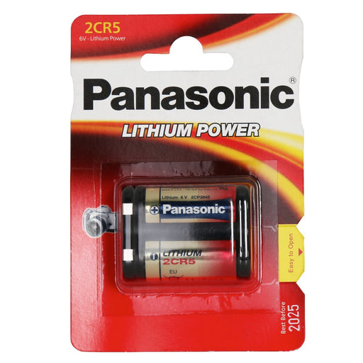 Panasonic 2CR5 Lithium Photo Battery