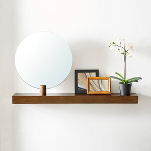 Amivon Wall Mount Mirror and Shelf