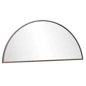 "Wyndowlyn Decorative Arched Mirror 48""- Black Nickel"