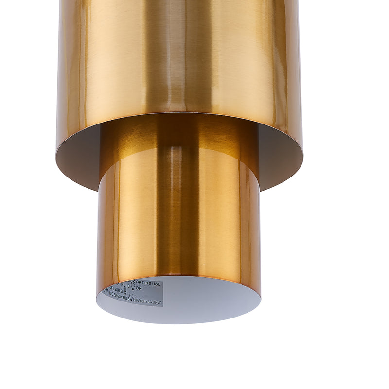 Hanlan Art Deco Semi-Flush Mount Lamp