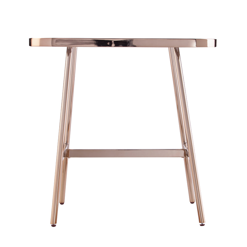 Tarmor Mirrored End Table