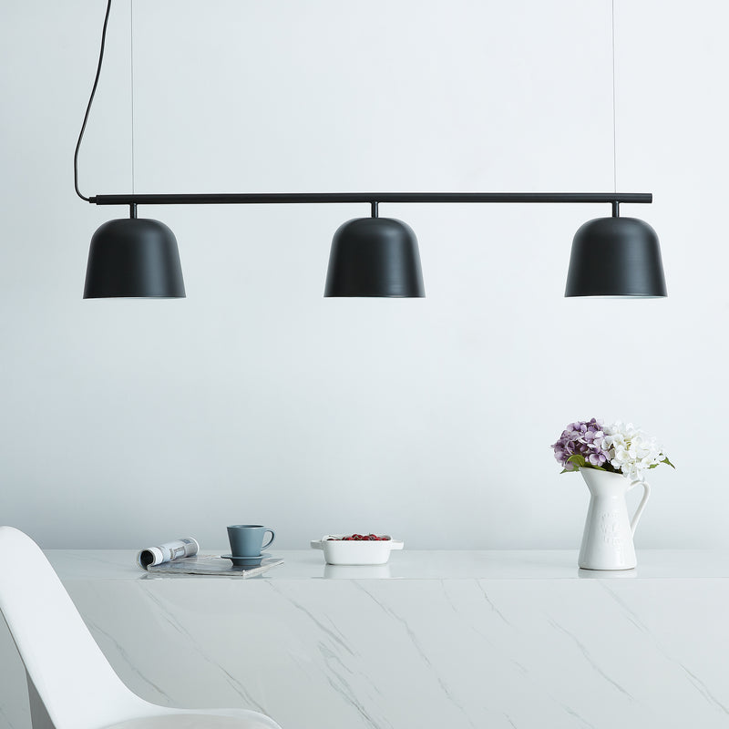 Jacona 3-Light Pendant Lamp - Black