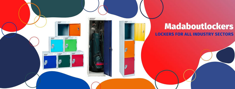 Madaboutlockers supply all industry sectors with a range of lockers to choose from