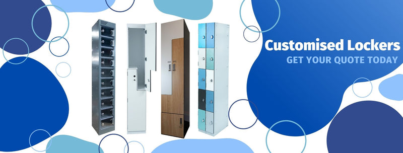 Madaboutlockers can manufacture customised lockers for your needs and wants. Please call us or email us for a quote.