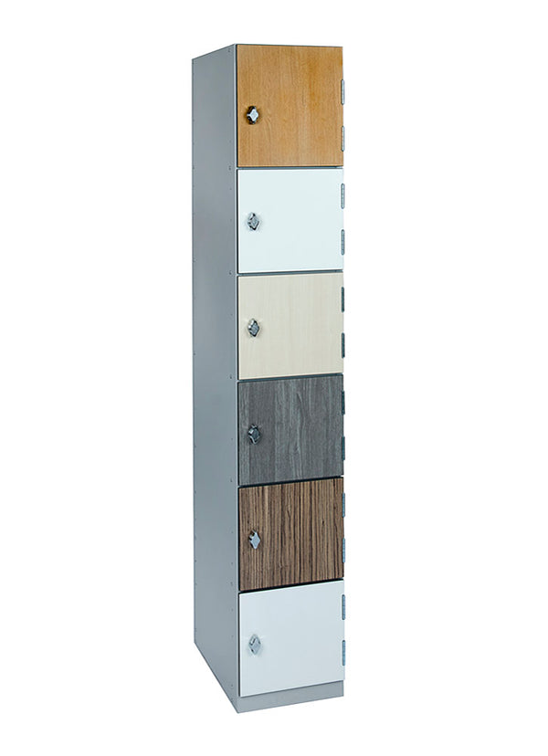 6 Door Laminate Locker (charging variant)