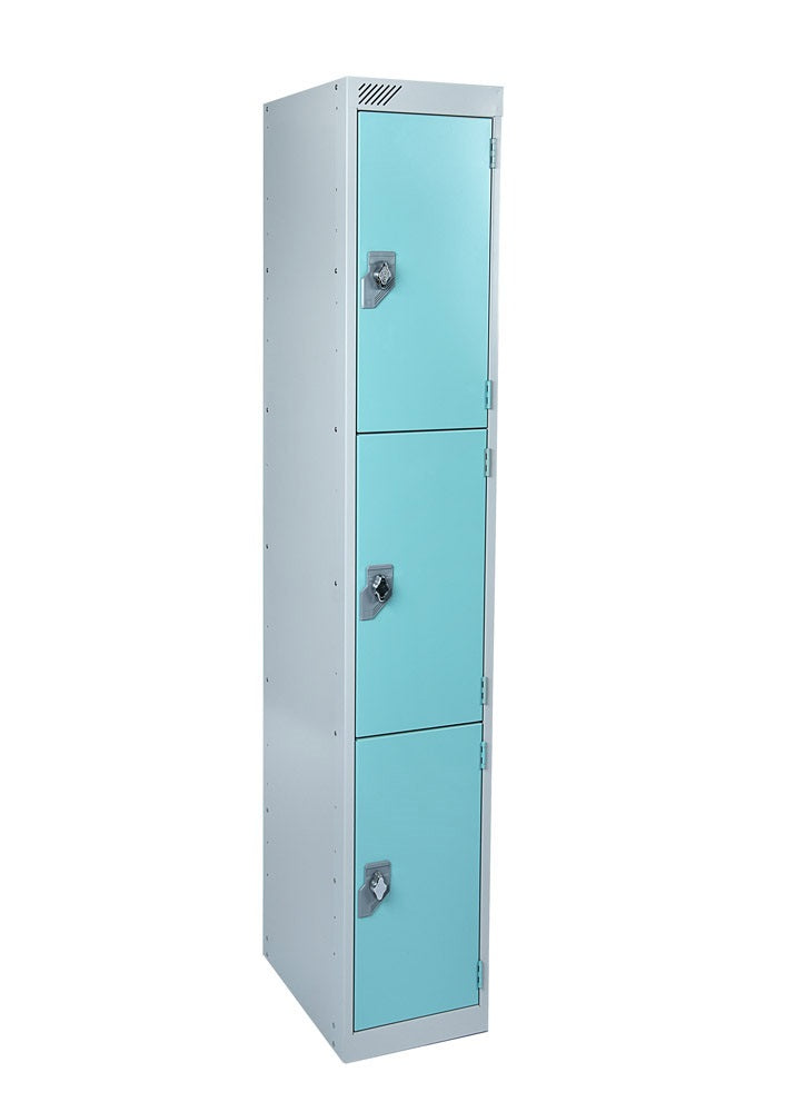 3 Door Antibacterial  Metal Locker