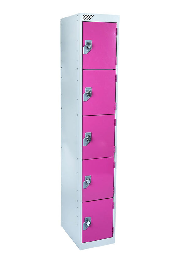5 Door Antibacterial Metal Locker
