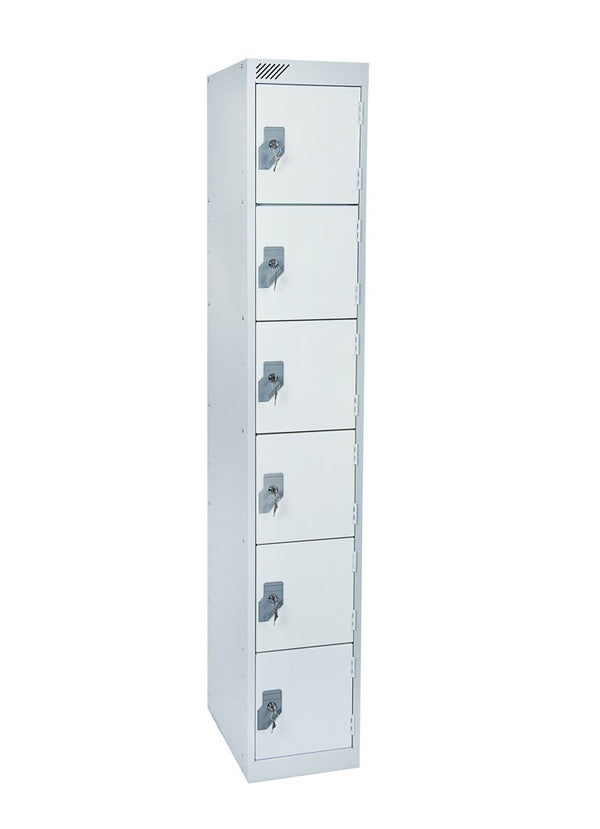 6 Door Antibacterial Metal Locker