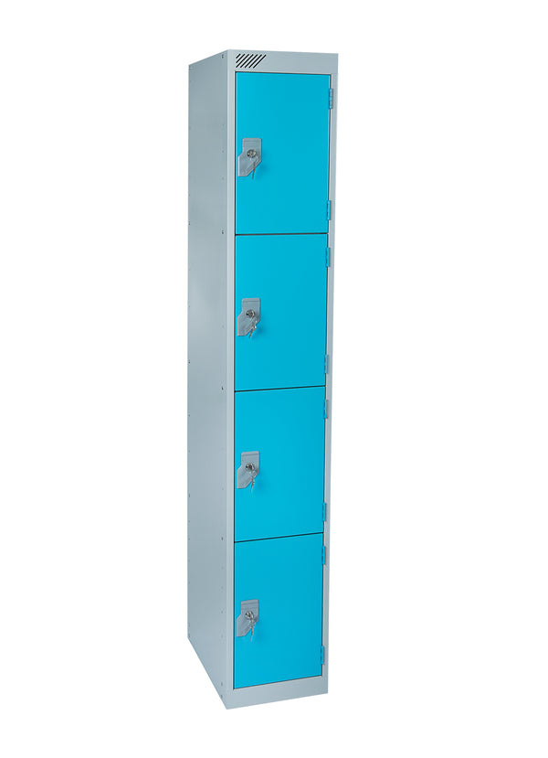 4 door metal locker for wet areas