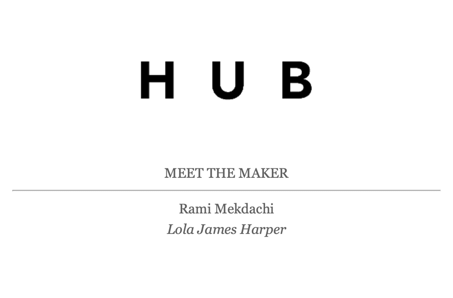 HUB Interview